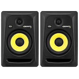 krk rokit 6 rp6 g3 powered studio monitors pair musical instruments. Black Bedroom Furniture Sets. Home Design Ideas