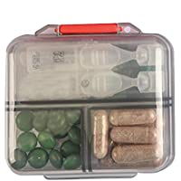Kbsin212 Pillendose Tablettenboxen Klein Pillendosen Reisen Pillen Organizer Tablettenbox Multifunktionale Medikamenten... preisvergleich bei billige-tabletten.eu