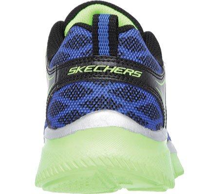 Skechers - Equalizer Quick Track, Sneakers per bambini e ragazzi Nero (nero)