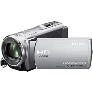 Sony HDR-CX200ES Full-HD Camcorder (6,7 cm (2,7 Zoll) Touchscreen, 5 Megapixel, 25x opt. Zoom, HDMI) iAUTO silber