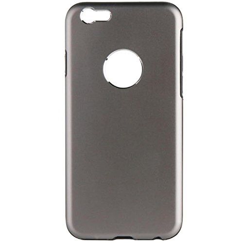 Caseit Hardshell Aluminium Hülle Case Cover mit TPU-Einlage Passgenau für iPhone 6/6s - Gold Space Grau