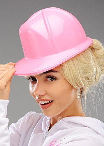 Rosa Kunststoff Bauherren Helm Schutzhelm
