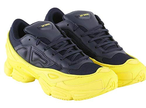 low priced 5b2c0 07a2f ADIDAS X RAF Simons Sneakers RAF Simons F34267 Yellow - Navy Size 10½