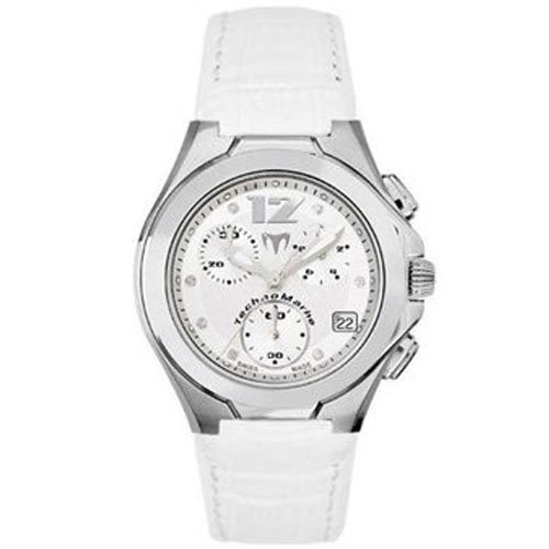 Technomarine Neo Classic Homme & Femme Diamants Chronographe Date Montre TMNCW05