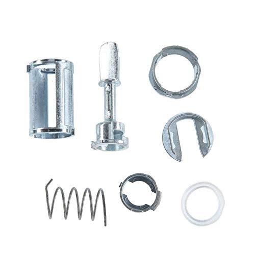 Preisvergleich Produktbild Türschloss Reparatursatz 7PCS Front Door Lock Barrel Reparatursatz für Audi A6