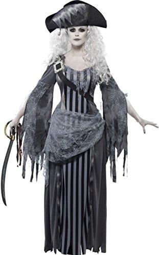 y Kleid weiblich Piraten Geisterschiff Prinzessin Kostüm (Erwachsene Piraten Prinzessin Kostüme)