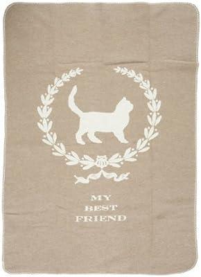 David Fussenegger - Manta para gatos, diseño con texto