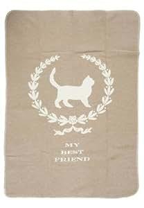 David Fussenegger 61518279 Haustierdecke Best Friend Katze, 70/90 cm