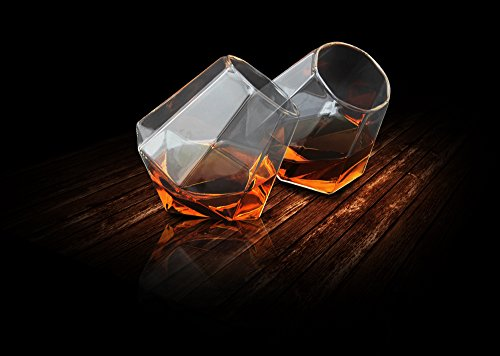 thumbsup-1272-pack-de-2-verres-diamant-verre-transparent