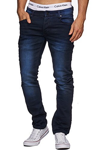 !Solid Herren Jeans Slim Fit Jeanshose - Joy Stretch Blue 28/32 29/32 30/32 31/32 32/32 33/32 34/32 36/32 31/34 32/34 33/34 34/34 36/34 Blue (MEDIUM USE)
