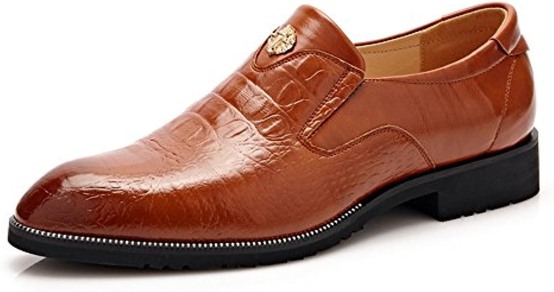 Cuir Xhd Oxford Homme En D'hommes Faux Chaussures Femme wqWa1PXf