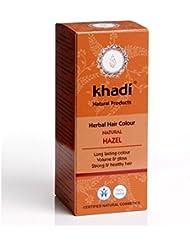KHADI Coloration naturelle aux plantes - Brun Noisette Naturel - 100g