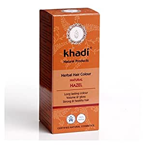 KHADI Coloration naturelle aux plantes - Brun Noisette Naturel - 100g