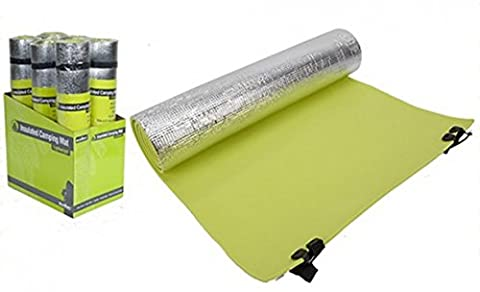 Summit Insulated Camping Mat Green