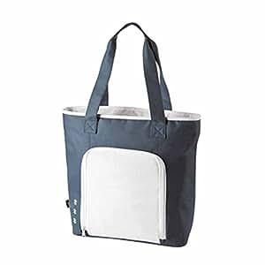Halfar - Sac cabas isotherme shopping ou pique-nique - 1807551 - gris et blanc