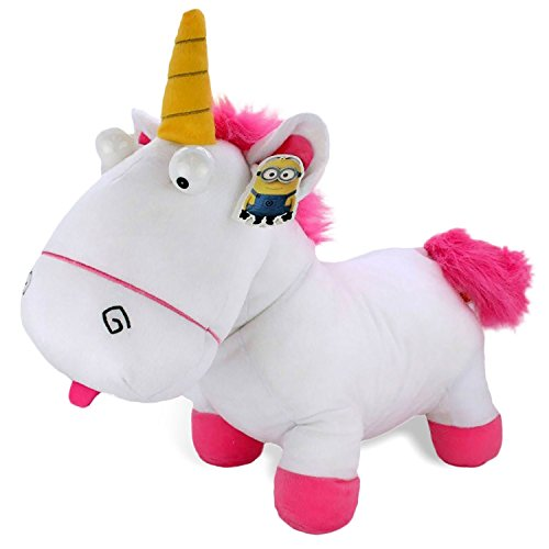 MINIONS - Agnes unicornio felpa, 60 cm, longitud XXL, - Plush - GRU película - Mi Villano Favorito 3 - Despicable Me 3