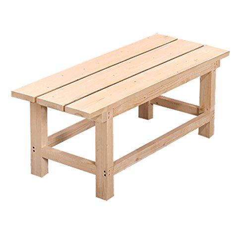 Banco madera maciza Banco madera Taburetes largos