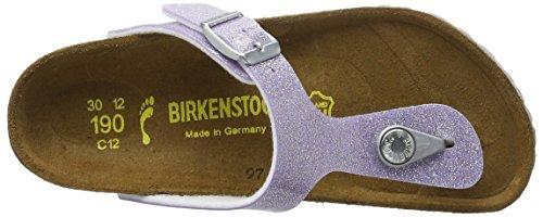 Birkenstock Gizeh, Tongs fille Violett (MAGIC Galaxy Lavender)