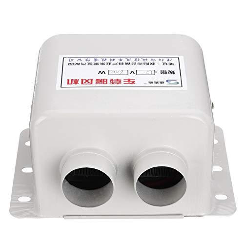 YONGYAO Kfz-Heizung, 12 V, 600 W, Weiß -