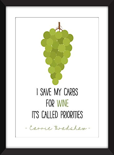 carrie-bradshaw-i-save-my-carbs-for-wine-unframed-print-je-sauvegarde-mes-carburants-pour-le-vin-san