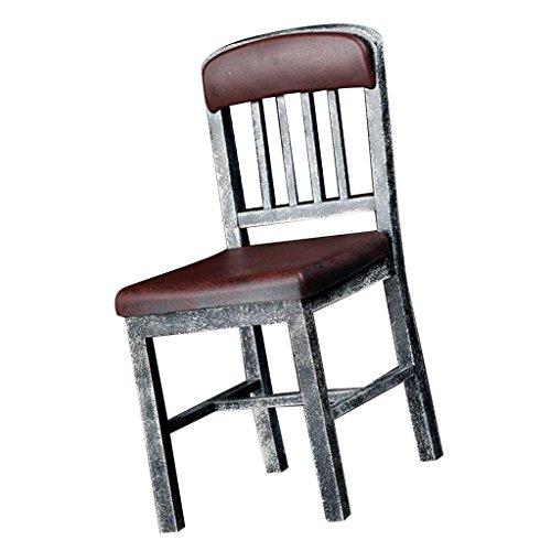 MagiDeal 1: 6 Mini Stuhl Möbel Modell für 12 Zoll Action Figur Zubehör - Braun (Did 1 6 Action Figuren)