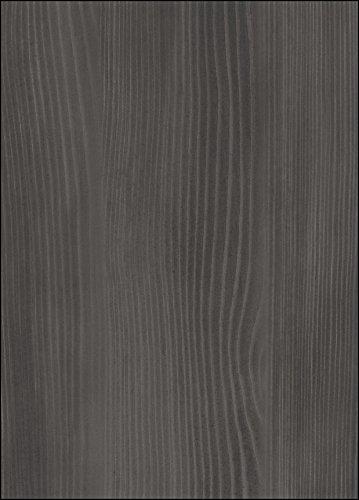 trendteam XP13610 Wohnzimmerschrank Vitrine Esche grau Nachbildung, Fronten weiß Nachbildung, BxHxT 89x197x36 cm - 6