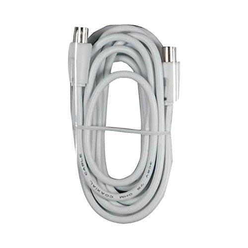 Maxview TV Antennenkabel 4m weiß (Einheitsgröße) (Weiß)