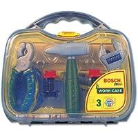 Theo Klein 8465 BOSCH Werkzeugkoffer, mittel,transparent, Spielzeug