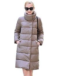Queenshiny® Women Lapel Long Thciken Down Coat