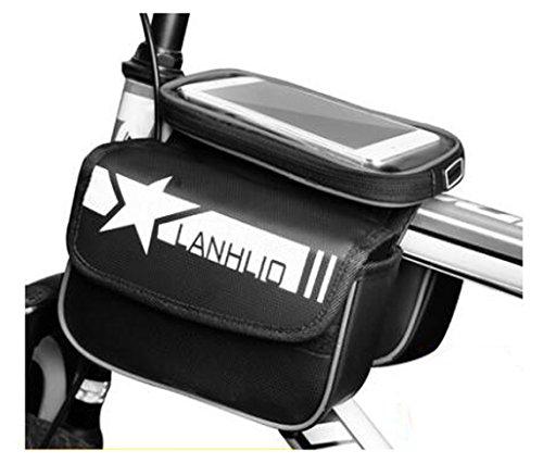 Bike Bag Bunte Fahrrad Lenker Pakete für 6 Zoll Telefon Multi-Funktions-Fahrrad-Zubehör#14