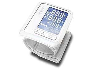 Terraillon Tensiomètre Poignet Connecté, Pour Smartphone/Tablette, Calcul de la Tension Artérielle et du Rythme Cardiaque, 1 Utilisateur, 60 Mémoires, Bluetooth Smart, Tensio, Blanc
