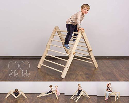 Triangolo Pikler modificabile Mopitri, struttura rampicante per bambini piccoli, Pikler triangle