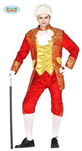 Kostüm Fürsten - GRAF Kostüm im Barock Stil für Herren Gr. M und L, Größe:M