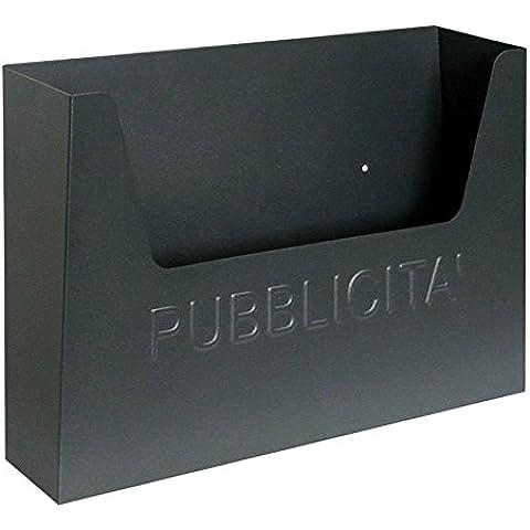 Cassetta postale posta porta pubblicita portapubblicita ferro metallo lamiera