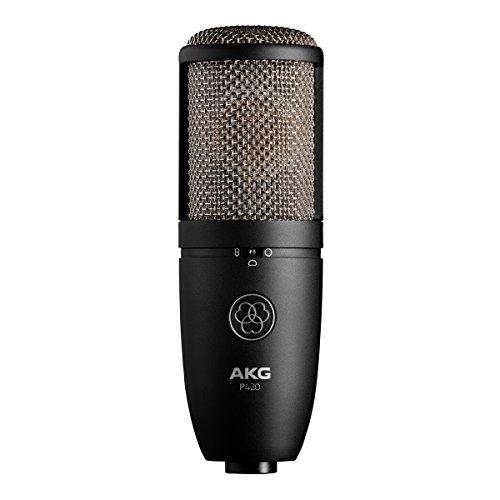 AKG P420| Dual capsule True microfono a condensatore per studio Stage