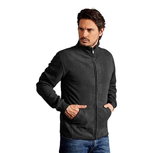 Promodoro Doppel-Fleece Jacke Herren, M, Graphit-Dunkelgrau Fleece-shirt Für Herren-jacke