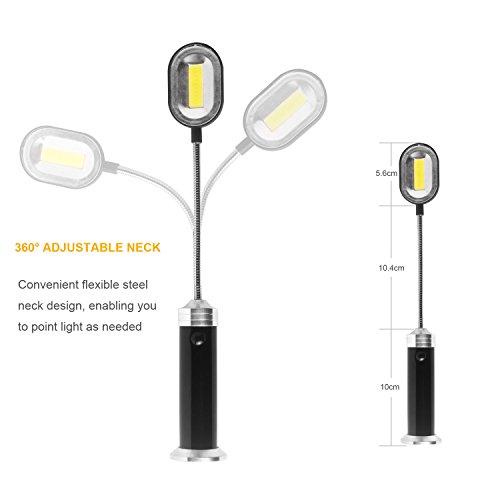 413PiymR5PL - LED Grill Licht Magnetische Grill BBQ Licht Set Grillen Zubehör Schwarz