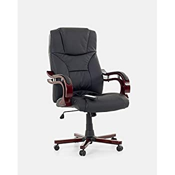 Sedia da ufficio in pelle con massaggio poltrona ufficio presidenza ...