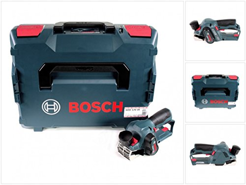 Bosch GHO 12V-20 Akku Hobel Professional Solo in L-Boxx - ohne Zubehör, ohne Akku, ohne Ladegerät (06015A7000)