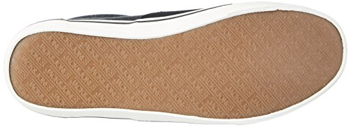 Jack & Jones Jfwvision Washed Canvas Suede Mix Anthra, Sneakers Basses Homme Gris (Anthracite)