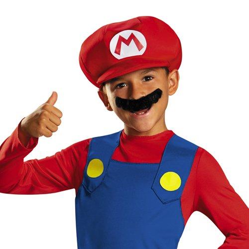 Super Mario-430079-Kostüm Kinder Klassische-10-12Jahre-Rot -