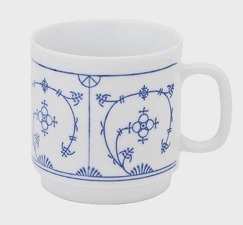 kahla-tradition-kaffeebecher-030-l-blau-saks-mit-kleinen-schonheitsfehlern