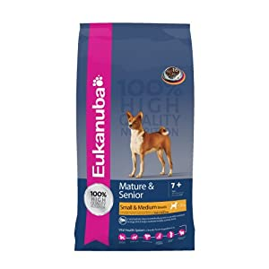 Eukanuba Mature and Senior Small and Medium Breed Dry Food 3 kg from Proctor & Gamble