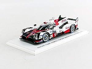 SPARK-Coche en Miniatura de colección, s5805, Color Blanco/Rojo/Negro