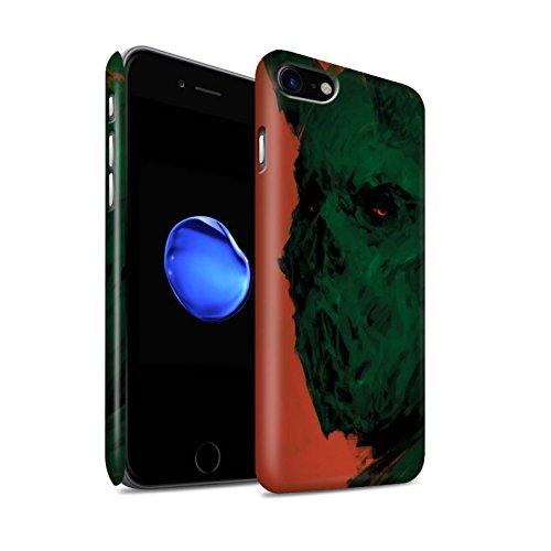 Offiziell Chris Cold Hülle / Matte Snap-On Case für Apple iPhone 7 / Vampirfledermaus Muster / Wilden Kreaturen Kollektion Ungeheuer/Troll