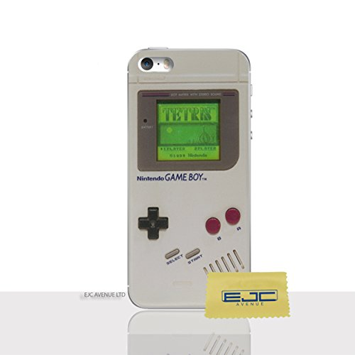 s / SE Telefon Fall Gel TPU Abdeckung / Displayschutz + Stoff / Spielkonsole / EJC Avenue / Gameboy (Iphone 5 Case Gameboy)