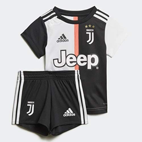 adidas Herren Juventus Home Baby, Fußballtrikot, Herren, DW5465, schwarz/weiß, 6-9M