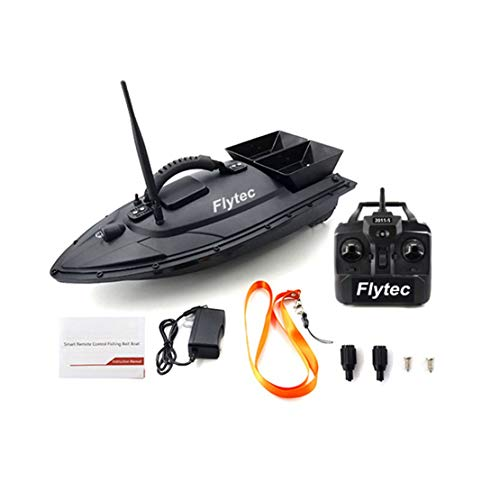 Fish Finders Ul Plug Boat Intelligent Wireless Electric Rc Fishing Bait Boat Remote Control Fish Finder Ship Searchlight Rc Sturdy Construction Fishing
