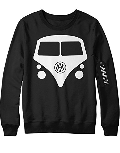Sweatshirt VW Bulli C112244 Schwarz L