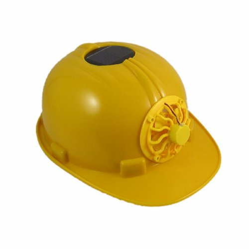 Schutzhelm Solar Safety Helmet Hard Ventilate Hat Cap Cooling Cool Fan (Solar-sonne Hat)